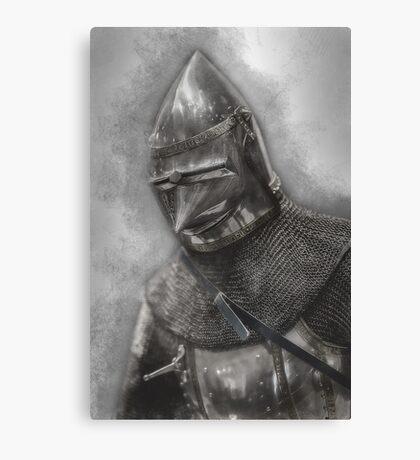 Armoured Canvas Print
