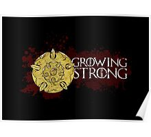 Growing Strong - House Tyrell Poster