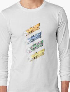 swimming in the sky Long Sleeve T-Shirt