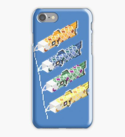 swimming in the sky iPhone Case/Skin