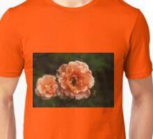 Little peach roses Unisex T-Shirt