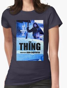 THE THING 12 Womens Fitted T-Shirt