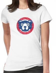 cubs chicago Womens Fitted T-Shirt