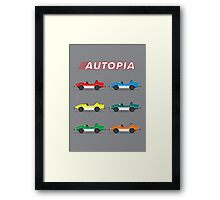 Autopia Poster Framed Print