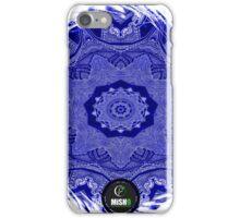 Circular Power Core Blue iPhone Case/Skin