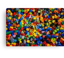 Dreaming in Legos Canvas Print