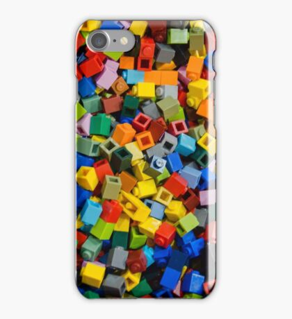 Dreaming in Legos iPhone Case/Skin