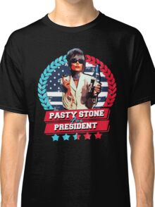 pasty stone for president Classic T-Shirt