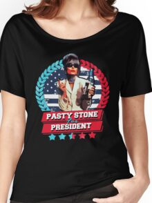 pasty stone for president Women's Relaxed Fit T-Shirt