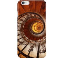 Spiral Staircase, St Stephen's Basilica, Budapest iPhone Case/Skin