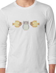 Fish Owl Fish Long Sleeve T-Shirt