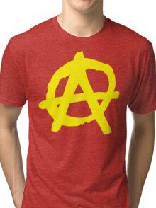 Anarcho-Capitalism Symbol Tri-blend T-Shirt