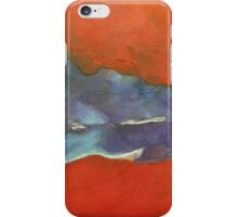 Abstract Red iPhone Case/Skin