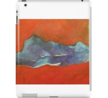 Abstract Red iPad Case/Skin