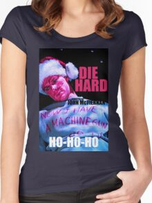 DIE HARD 7 Women's Fitted Scoop T-Shirt