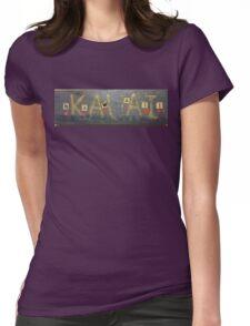 KAUAI  original artwork  Womens Fitted T-Shirt