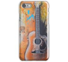 The Art of Music, acoustic guitar iPhone Case/Skin