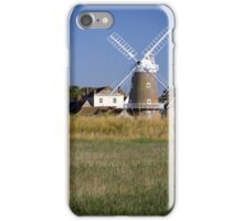 Cley Windmill and reedbeds iPhone Case/Skin