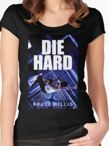DIE HARD 8 Women's Fitted Scoop T-Shirt