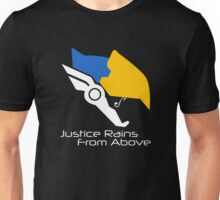 Justice Rains From Above - Pharah Unisex T-Shirt