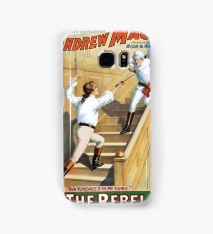 Performing Arts Posters The singing comedian Andrew Mack in his new play The rebel a drama of the Irish rebellion by James B Fagen 1333 Samsung Galaxy Case/Skin