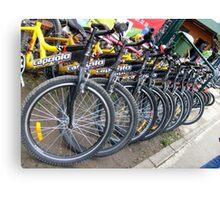 Bikes... Canvas Print