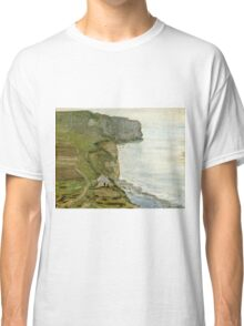 Claude Monet - Cape Antifer, Etretat  Classic T-Shirt