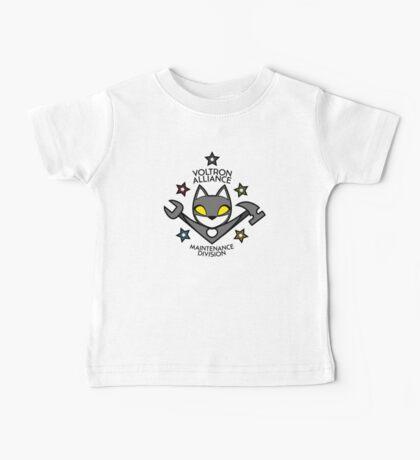 V.A. Maintenance Division Black Baby Tee
