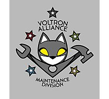 V.A. Maintenance Division Black Photographic Print