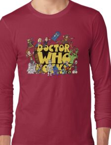 Doctor Who Rocks Long Sleeve T-Shirt