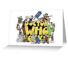 Doctor Who Rocks Greeting Card