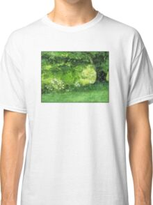 Casually Green Classic T-Shirt