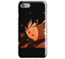 Black goku, case and shirt iPhone Case/Skin