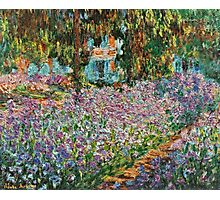 Claude Monet - Irises In Monet S Garden  Photographic Print