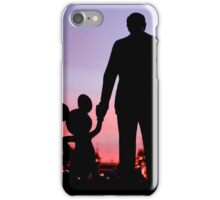hand in hand iPhone Case/Skin