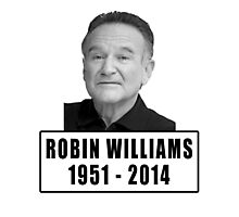 Robin Williams (1951 - 2014) Photographic Print