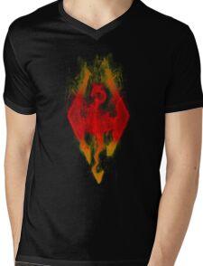 SKYRIM! Mens V-Neck T-Shirt