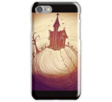 Church on a hill  iPhone Case/Skin