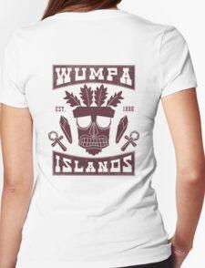 Aku Aku Wumpa Islands Womens Fitted T-Shirt