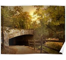 Country Bridge Poster