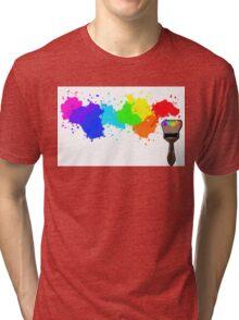Splatter Tri-blend T-Shirt