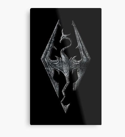 SKYRIM! Metal Print
