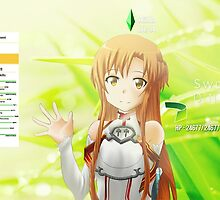 Sword Art Online Asuna by Joel Stringer