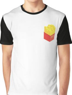 Isometric Fries Graphic T-Shirt