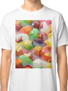 Psychedilc Jelly bean thing Classic T-Shirt