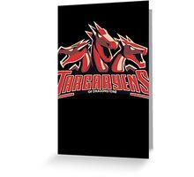 Targaryens Of Dragonstone Greeting Card