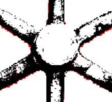 ophan, the wheel angel sticker Sticker