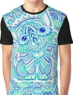 Psychedelic Art Graphic T-Shirt