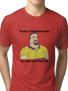 Mike Nolan councilman big lez show Tri-blend T-Shirt