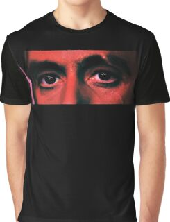 Scarface Eyes Graphic T-Shirt